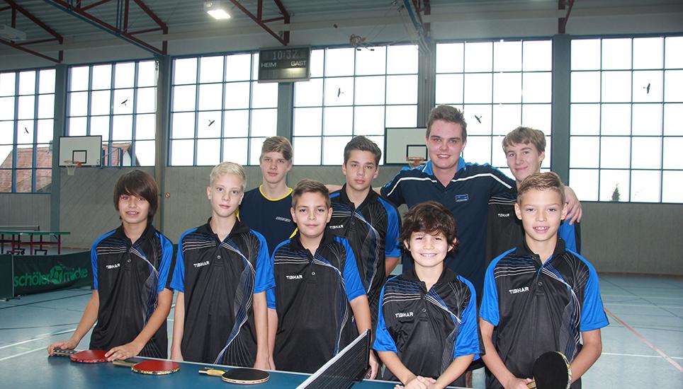 Photo of Jugend des TSV Burgheim mit viel Eifer dabei.